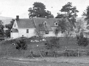 Roulette Farm, the central point around which the 14th CV fought at Antietam.