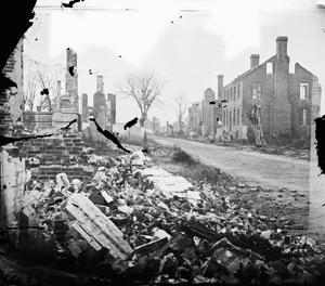 The ruins of Fredericksburg.