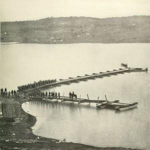 Aquia Creek Landing in 1863.