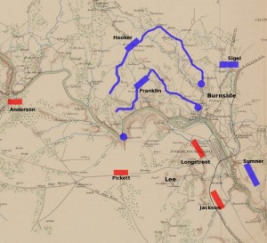 Battle plan for the Mud March