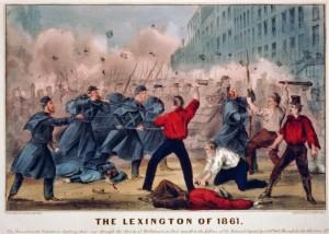 The April 19 Pratt Street Riot in Baltimore