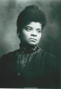 Ida B. Wells, approximately 1888.