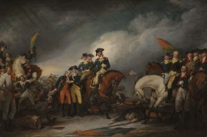 Col. William Shepard was at the Battle of Trenton, N.J. with George Washington, and his likeness appears in the painting Capture of the Hessians at Trenton, by John Trumbull at the Yale Univ. Gallery of Art, Chapel St., New Haven.